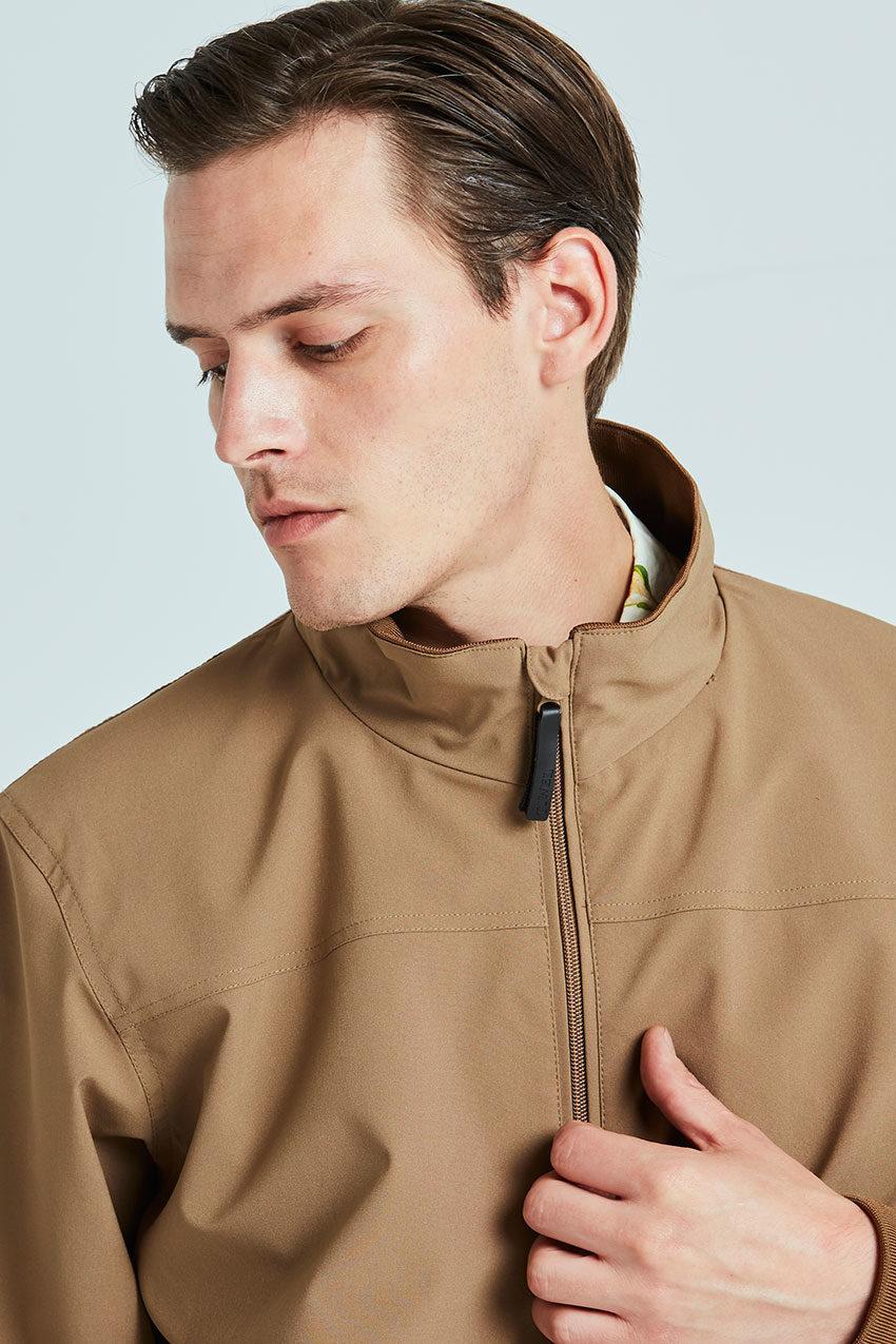 Haan jacket Tiwel sandstone 02