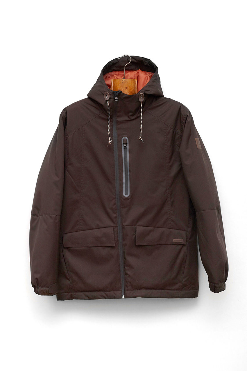Chaqueta Kamon Dark Chocolate
