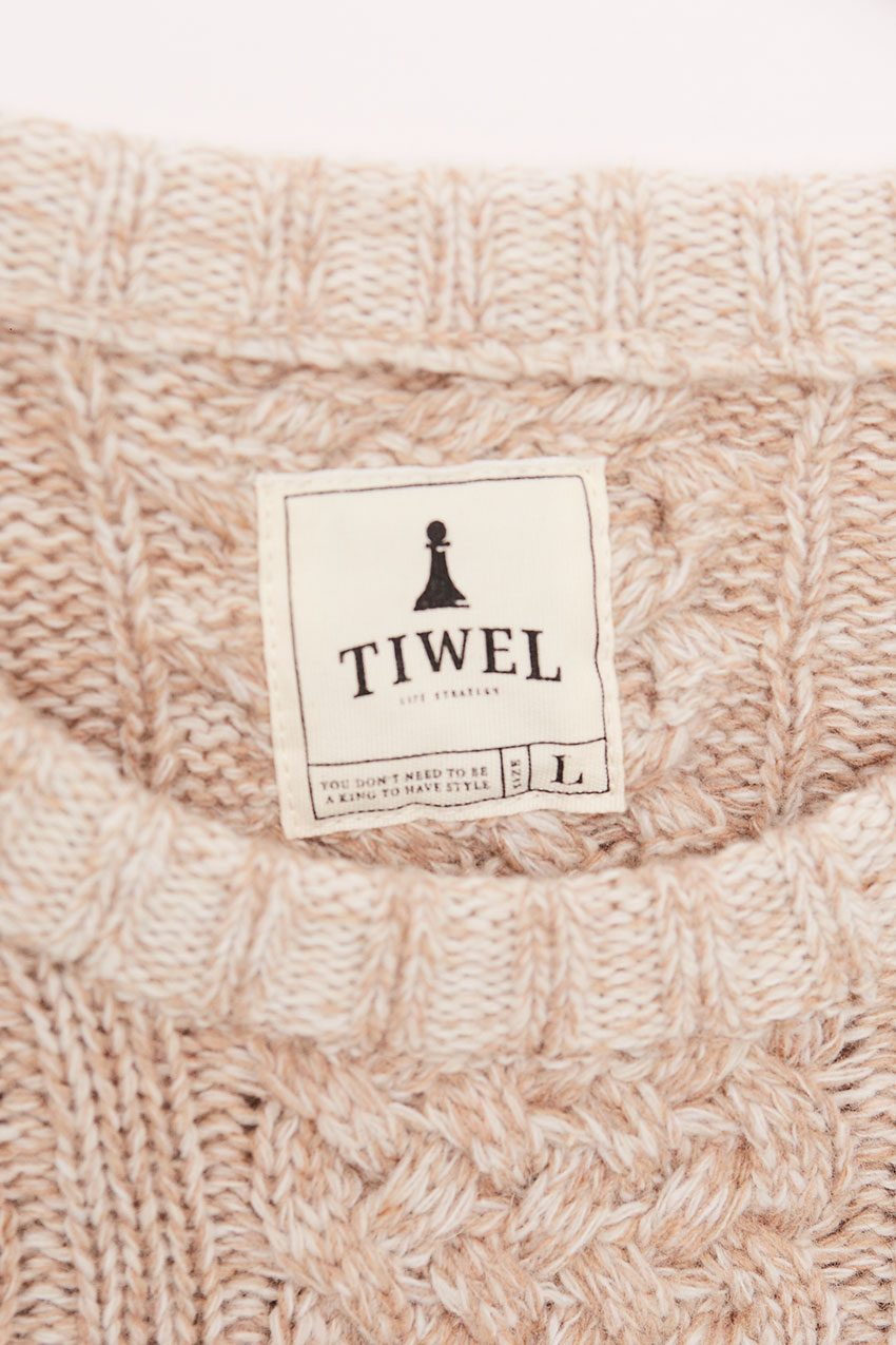 Bigapple Pullover Tiwel Off White 06
