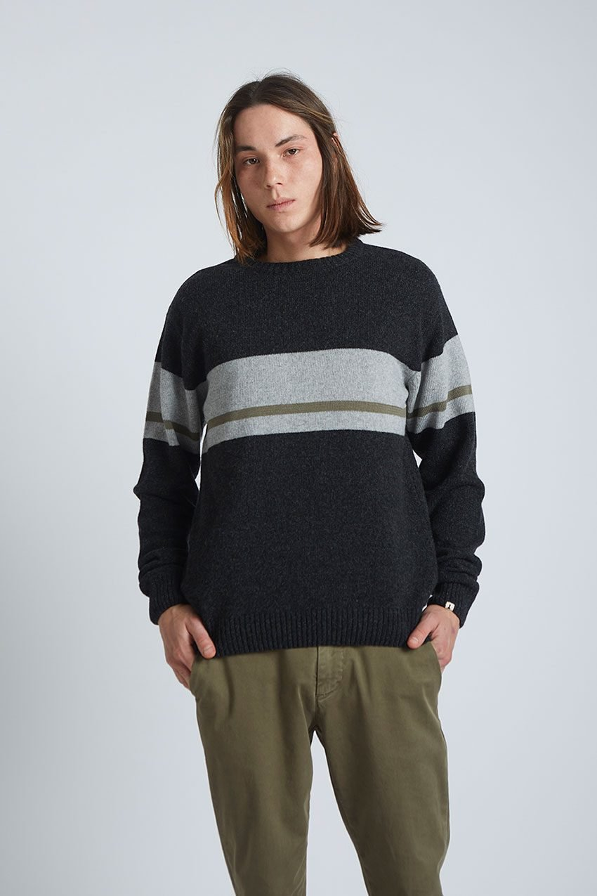 Will Pullover Tiwel Faded Black 02