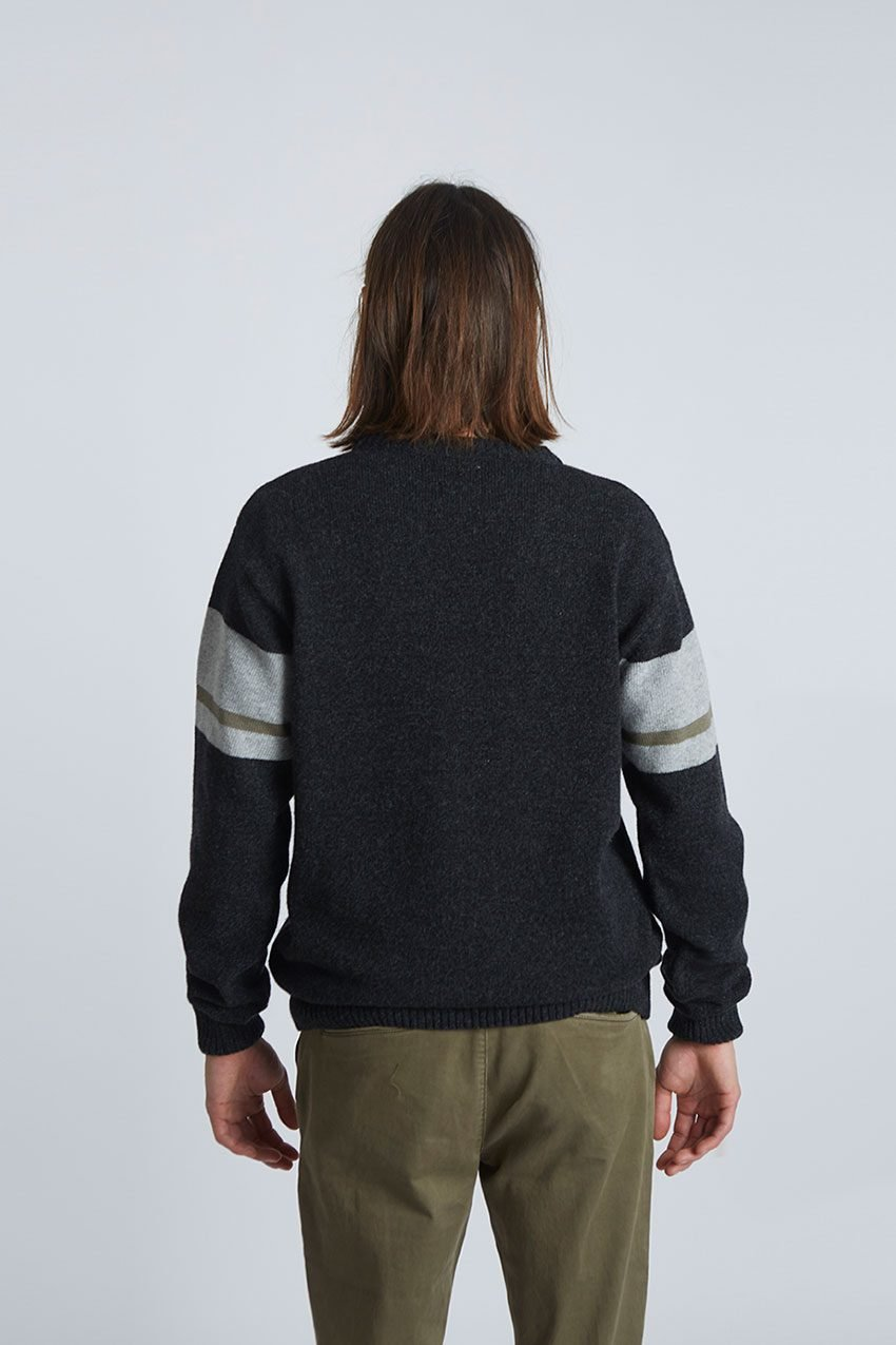 Will Pullover Tiwel Faded Black 04