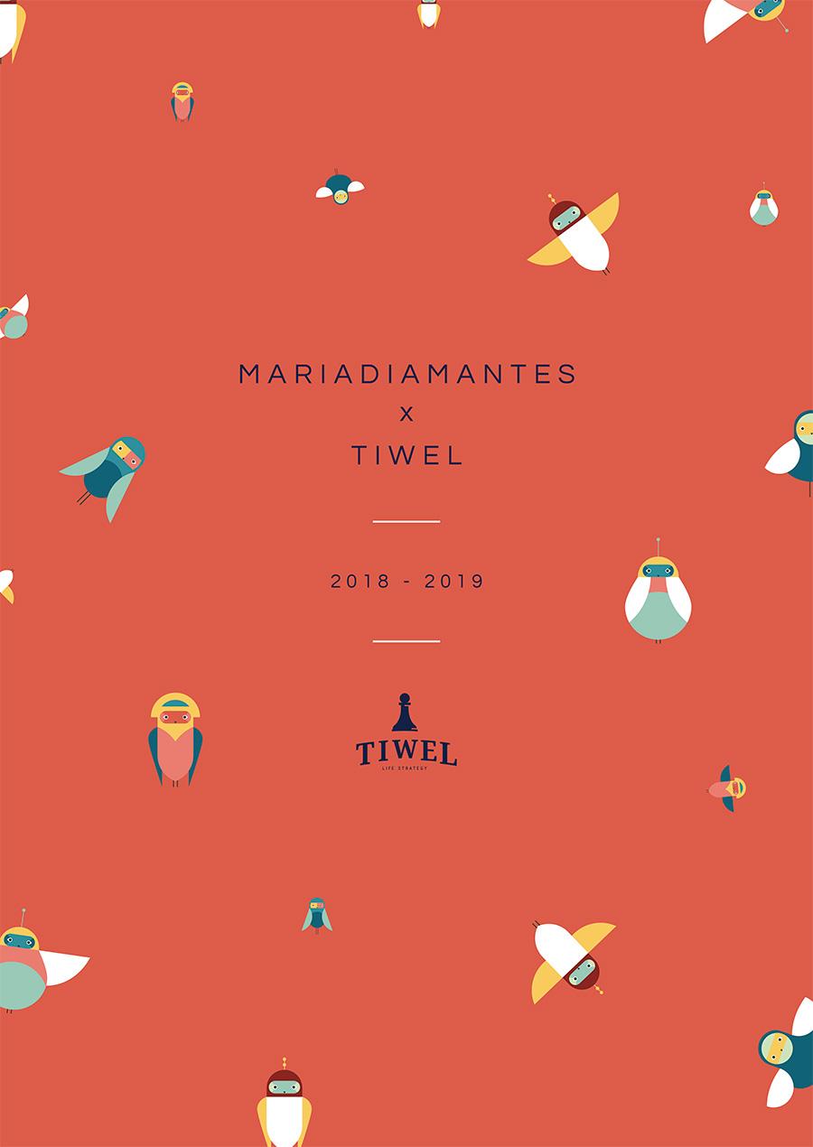 POSTER TIWEL MARIADIAMANTES