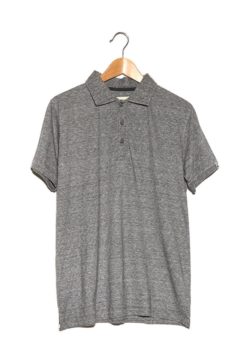 Polo Kot Grey Melange