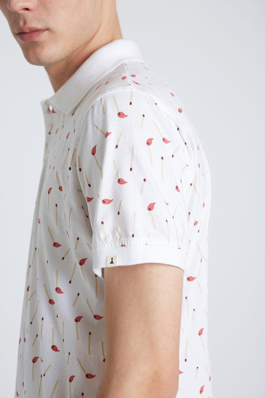 Stick Poloshirt Tiwel Snow White 06
