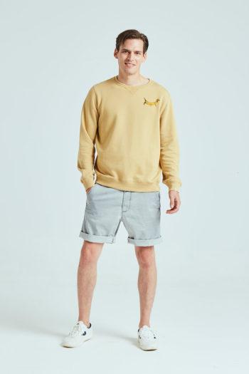 Doggie Sweatshirt Tiwel ochre 01
