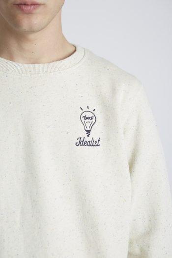 Lightbulb Sweatshirt Tiwel Cashew Nepp