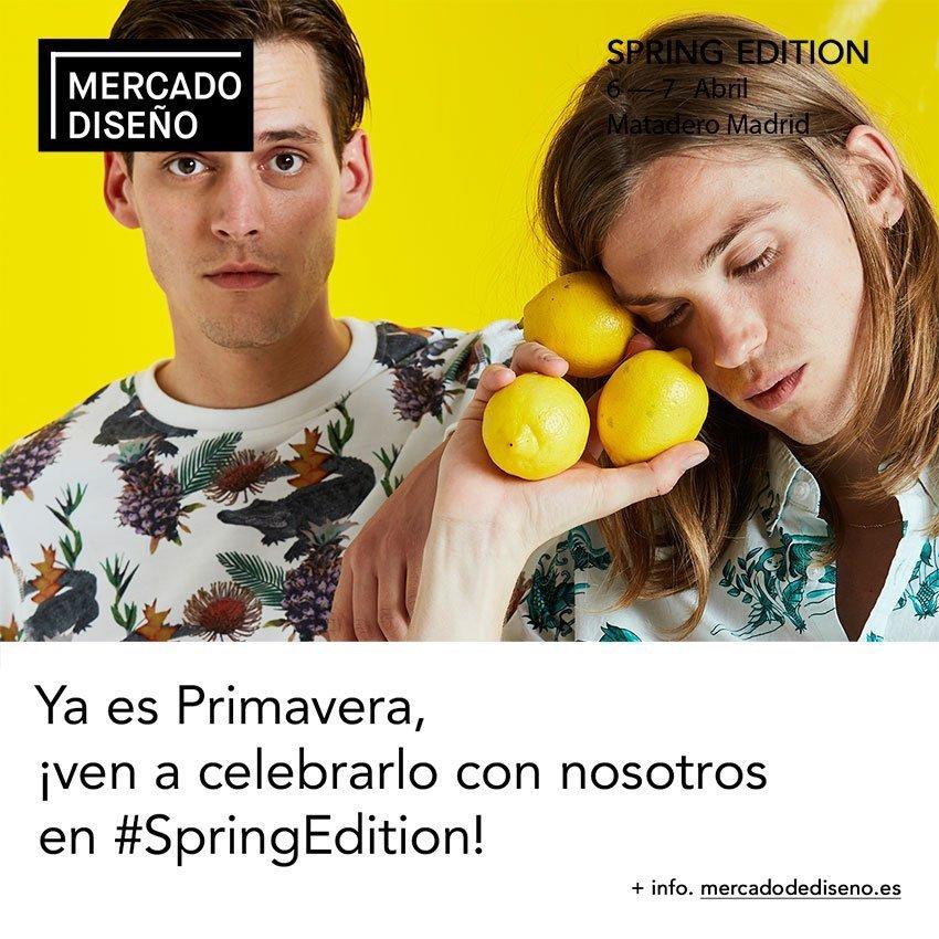 spring edition mercado diseno matadero